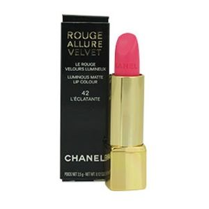Chanel luminous matte lipstick, 42